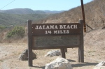 Jalama Beach sign