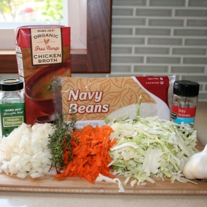 Navy Bean Soup ingredients